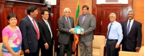 CB Annual Report handed over to the Finance Minister