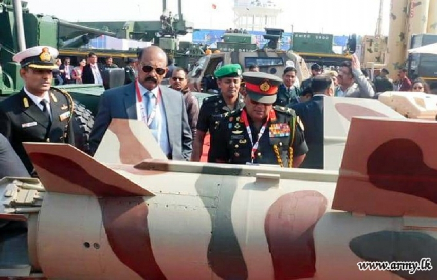 Defence Research Wing at 'DEFEXPO-2020' Attracts Sri Lankan Delegates' Focus