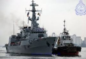 Three Russian Naval Ships arrive at the Port of Colombo
