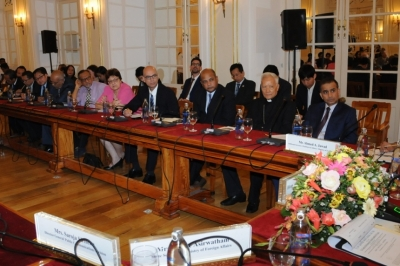 FOREIGN MINISTER BRIEFS COLOMBO BASED DIPLOMATS