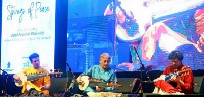 Strumming the strings of peace in Colombo