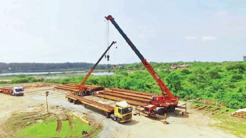 Advantis Projects marks completion of logistics services