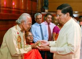 Senior Writers Award ceremony under President's patronage