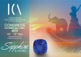 International Gem Congress on May 16 - 19