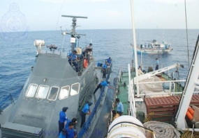 Sri Lanka Navy  assists to repatriate 23 Lankan Fishermen