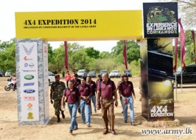 Commandos' Novel 4 x 4 Expedition Ends in Triumphant Note at Kudaoya