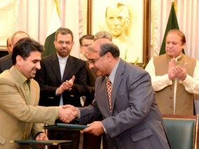 Pakistan, Iran sign 5 MoUs to enhance cooperation
