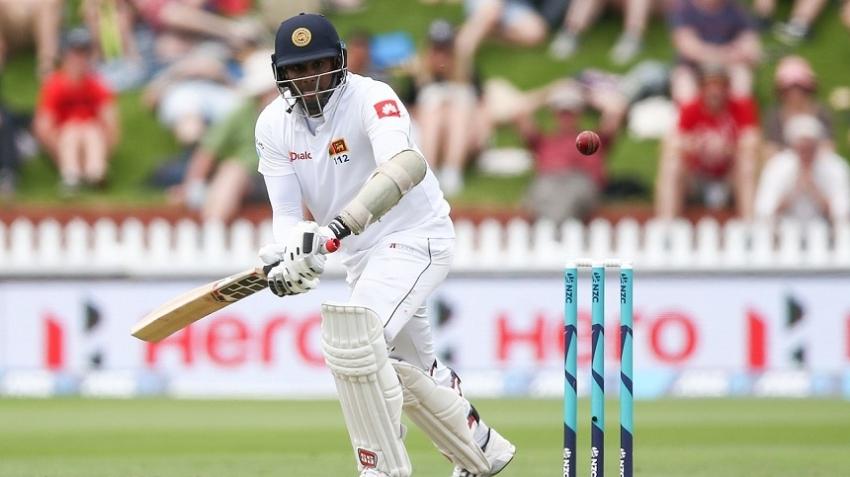 Niroshan Dickwella leads Sri Lanka