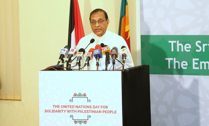 Relationship between Palestine and Sri Lanka a unique record, says Speaker