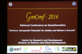 National Conference on Geo-informatics- 2014