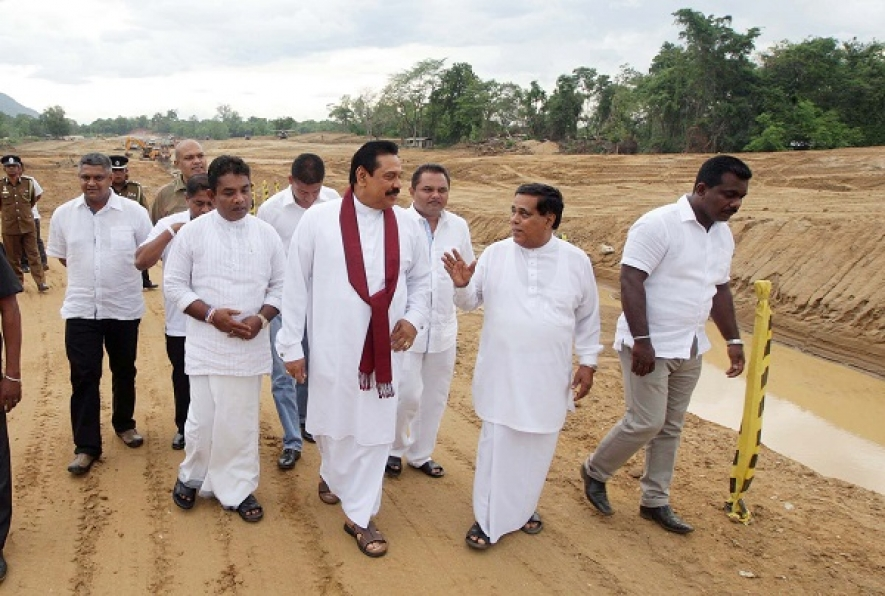 President inspects Morana Reservoir  Irrigation Project