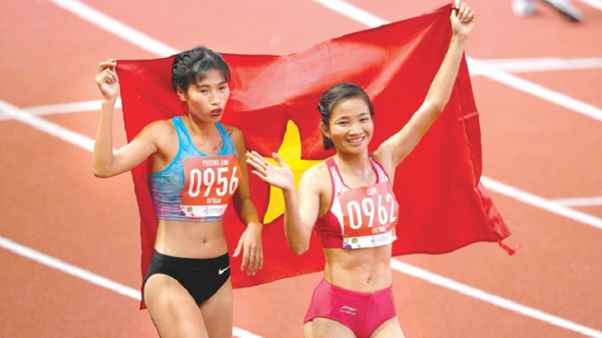 Vietnam track stars run away with golds at SEA Games
