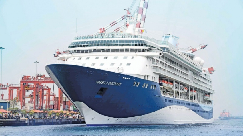 Marella Discovery makes maiden call to Colombo port