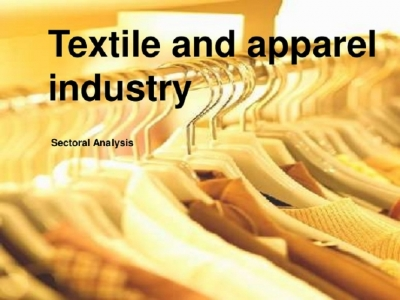 Apparel  industry confident of US $ 5.5bn  earnings