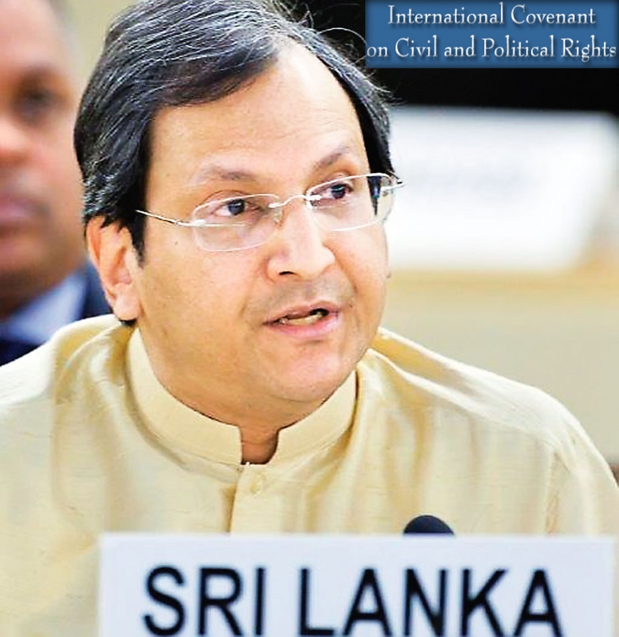 Introductory Statement of Ambassador Ravinatha P. Aryasinha at ICCPR on 7th October 2014