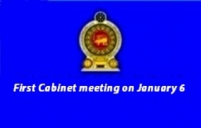 First Cabinet Meeting today