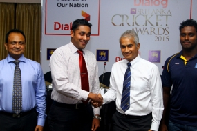 Dialog Sri Lanka Cricket Awards 2015 on October 19
