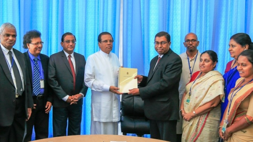 Interim report of Missing Persons handed over to President