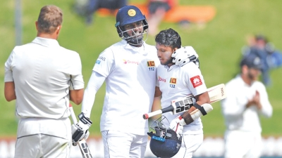 Williamson praises stubborn Sri Lanka pair
