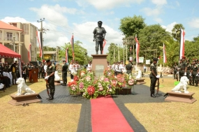 War Hero Lt. Gen. Denzil Kobbekaduwa remembered
