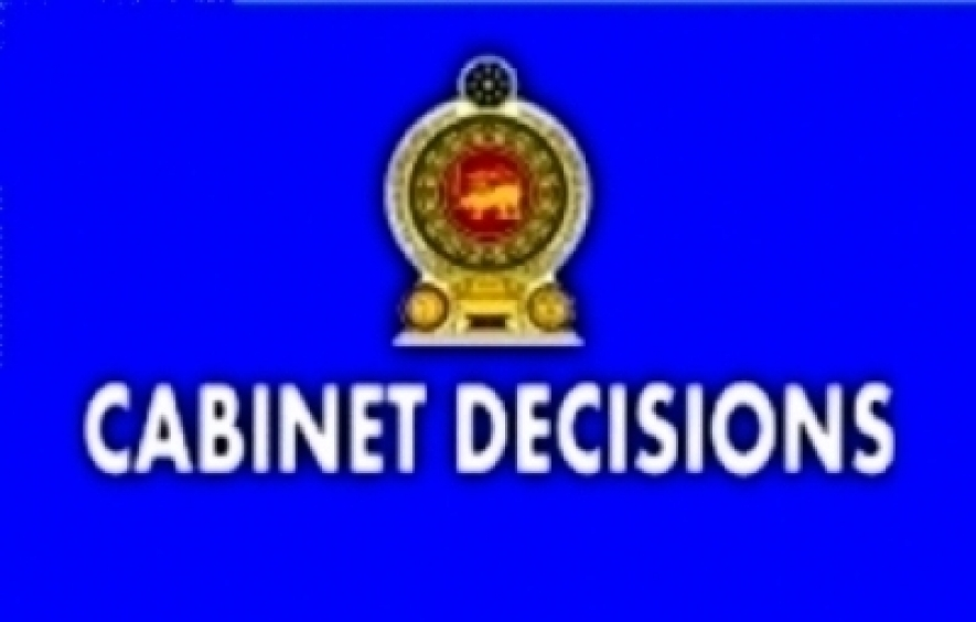 Decisions taken by the Cabinet of Ministers at its meeting held on 02-03-2016