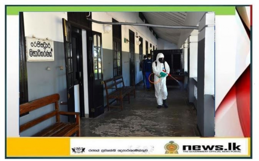 Navy conducts sterilization programme at Court Complex-Galle