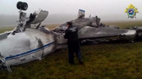 French Experts Investigate Air Accident in Moscow