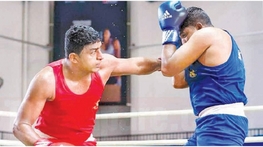 Sandakelum wins boxing gold for Sri Lanka after 20 years