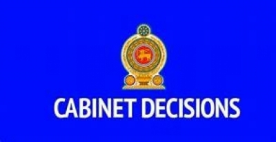Decisions taken by the Cabinet of Ministers at its meeting held on 09.04.2019
