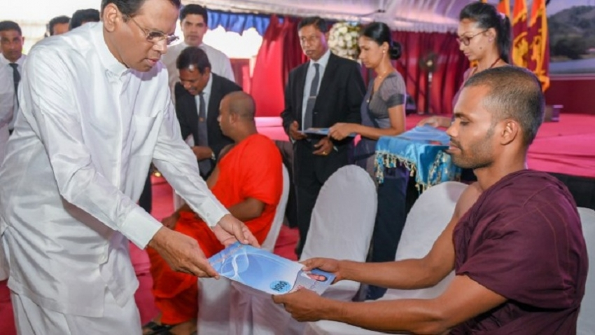 President presents teaching appointments to 1400 graduates in North Western Province
