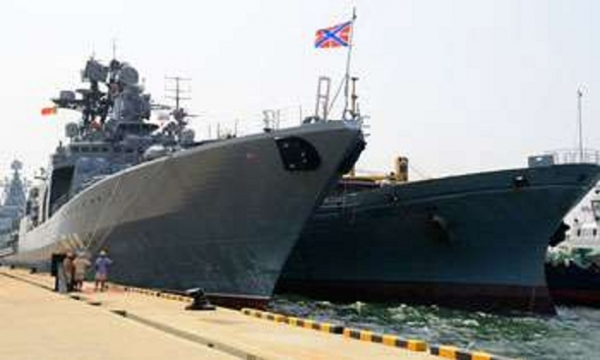 Three Russian ships arrive in Colombo