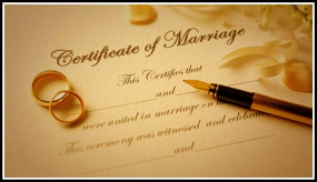 Marriage Registration charges reduced from Rs. 5,000/- to Rs. 1,000/-