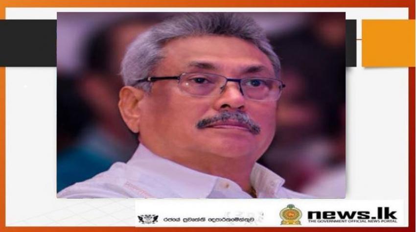 President pays homage to Anuradhapura Mihindu Aranya Senasana