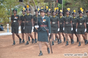 26 More Tamil Woman Recruits Pass Out from Kilinochchi