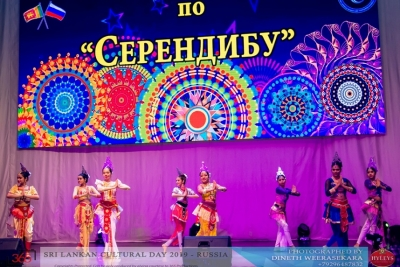 LANKAN STUDENTS IN RUSSIA PERFORM AT THE SRI LANKAN CULTURAL WEEK