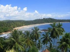 Mirissa and its breathtaking sandy beach