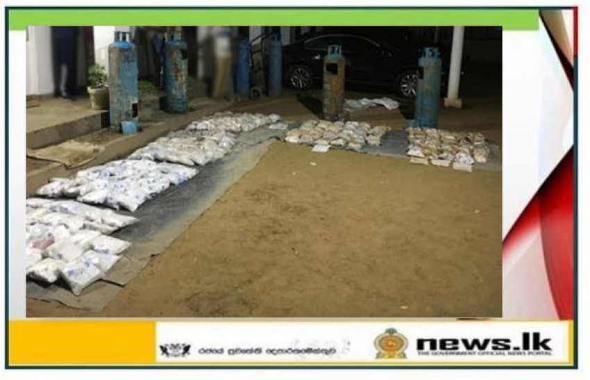 Navy seizes over 219kg of heroin worth over Rs. 1758 million