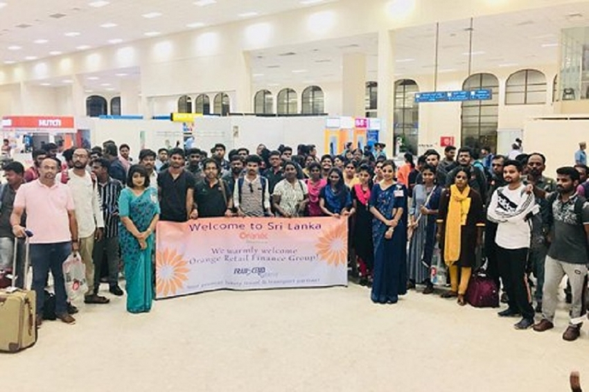 SriLankan brings 200 MICE travelers from Chennai