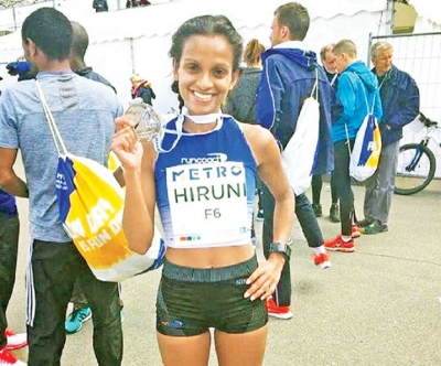 Hiruni qualifies for IAAF World marathon