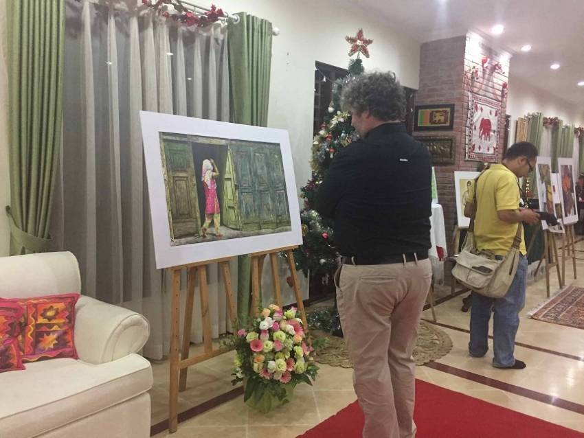 MY BEAUTIFUL SRI LANKA:  ART EXHIBITION  IN HA NOI