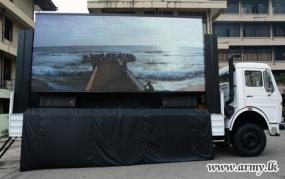 SLEME Produced Mobile Screen Handed Over to SLSC