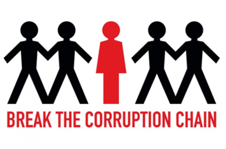 Today World Observes International Anti Corruption Day