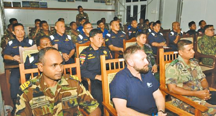 VBSS course for foreign defence partners