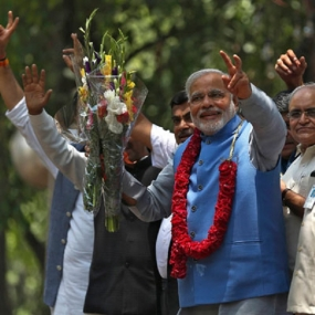 NDA chooses Narendra Modi as leader