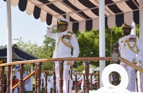 350 Navy recruits of regular intake, passes out
