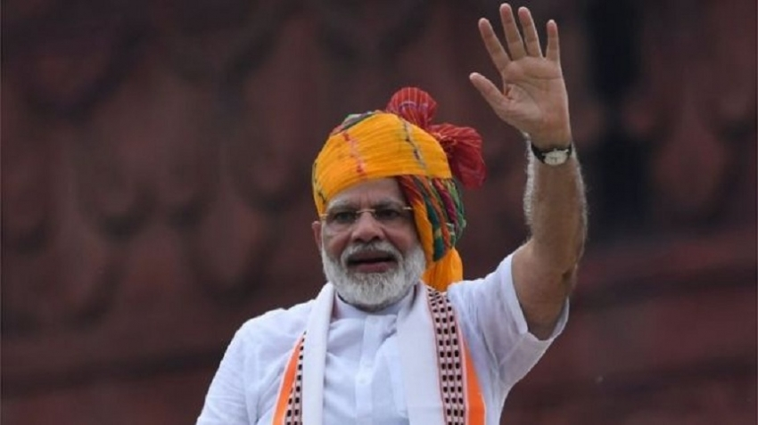 India PM  vows to 'restore' Kashmir's 'past glory'