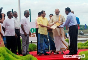 613 More Acres Held by Armed Forces in Kilinochchi & Mullaittivu Released
