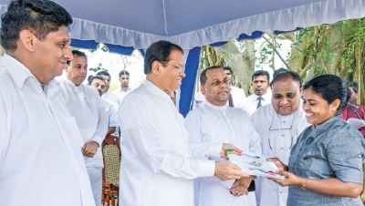 President reviews Grama Shakthi projects