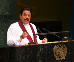 Address by President Rajapaksa at the 69th Session UNGA