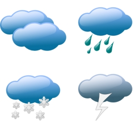 Showers or thundershowers in Northern, North-central, Eastern and Uva provinces